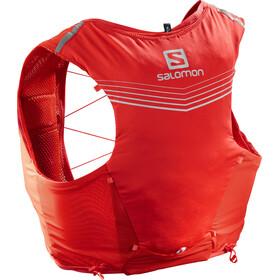 Salomon Adv Skin 5 Backpack Set Fiery red